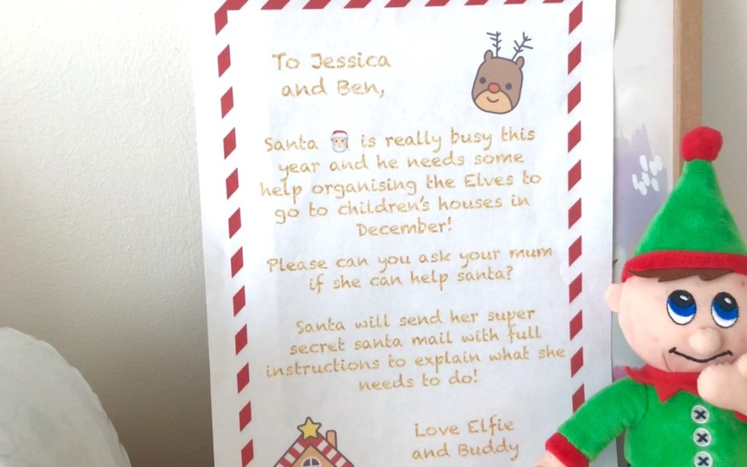 Our Very Special Letter From Santa