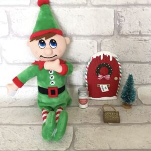 Christmas Plush Elf - 'The Magical Kind'