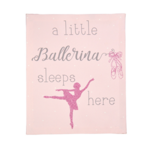 Ballet Canvas - Pink - The Magical Gift Boutique