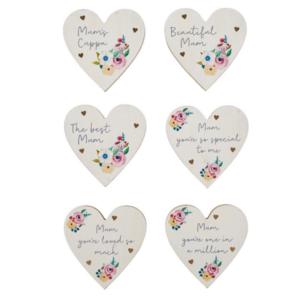 Mum Heart Coasters