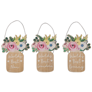 Flower Jar Plaque