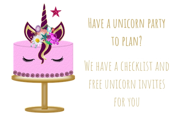 Everything you need to create a magical unicorn birthday party