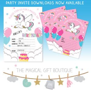 Printable party invite