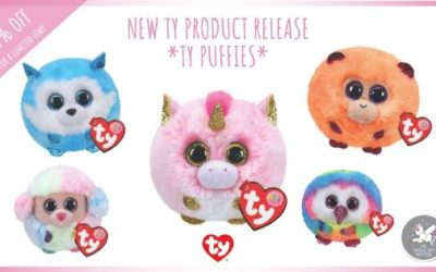 NEW Ty Puffies – The Exciting New Ty Product Launch