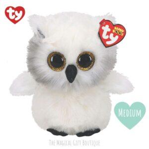 Austin Owl Beanie Boo - Medium