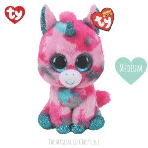 Gumball Unicorn Beanie Boo - Medium