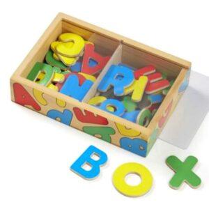 Wooden Letter Alphabet Magnets - Melissa and Doug