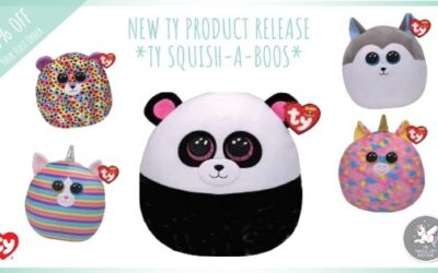 NEW – Ty Squish-A-Boos