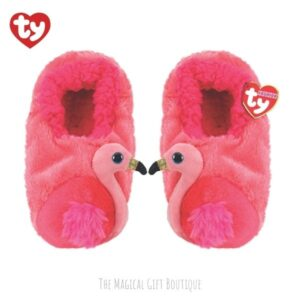 Gilda Flamingo Beanie Slippers