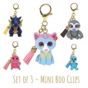 Mini Boo Clips - set of 3