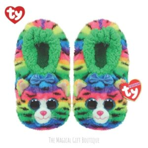 Tigerly Cat Beanie Slippers