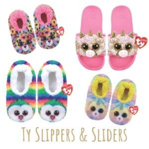 TY SLIPPERS & SLIDERS