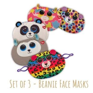 Beanie Masks - set of 3