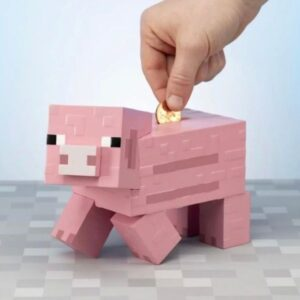Minecraft Pig Money Box
