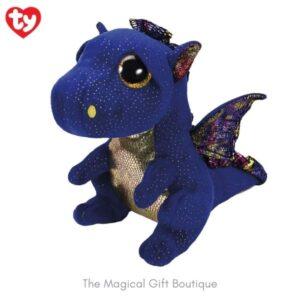 Saffire Dragon Beanie Boo