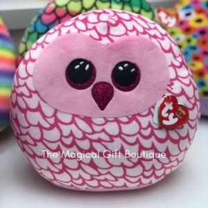 Squish-a-Boo - Pinky Owl 14''