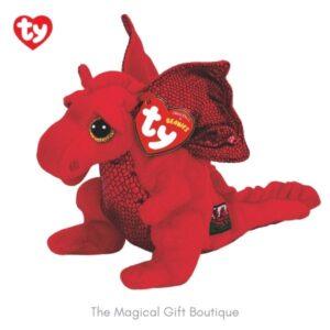 Ddraig Goch – Welsh Dragon Beanie Boo