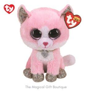 Fiona Cat Beanie Boo - Medium