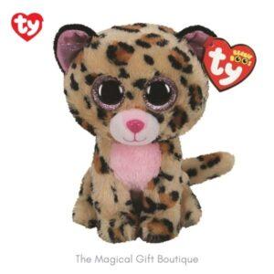 Livvie Leopard Beanie Boo - Medium