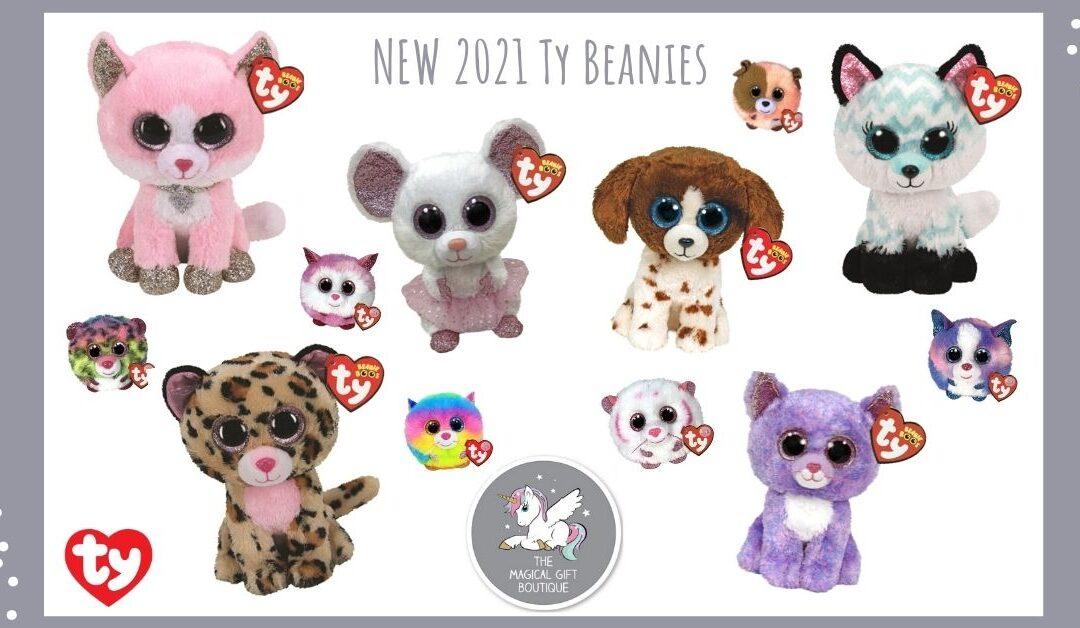 New 2021 Beanie Boos
