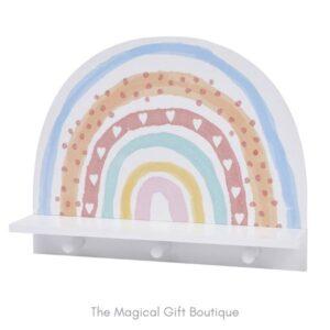 Rainbow Peg Shelf