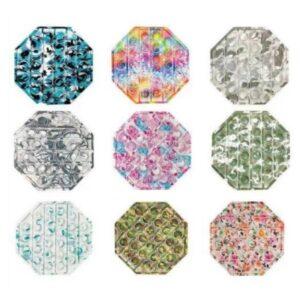 Pop It Hexagon Fidget - Assorted