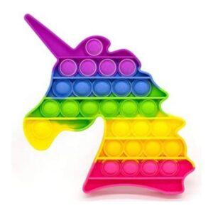 Rainbow Unicorn Pop It Fidget Toy